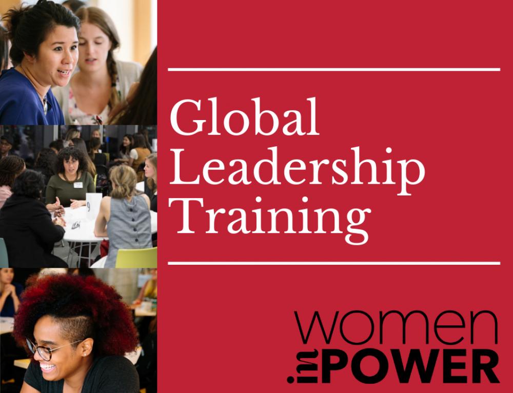 Announcing: Women inPower Global Leadership Training