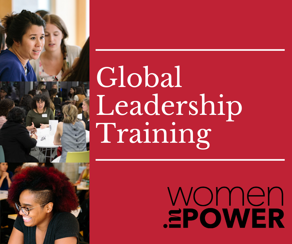 Announcing: Women inPower Global Leadership Training
